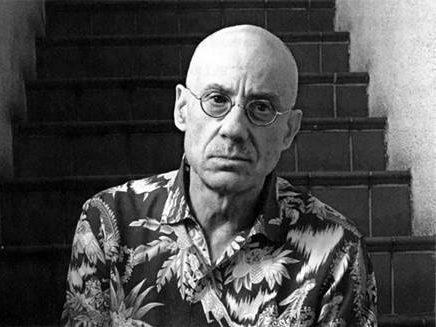 A portrait of James Ellroy