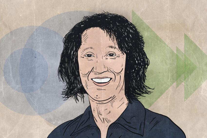 Portrait of Mei-Mei Berssenbrugge