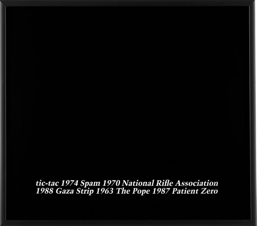 """Untitled"", 1988, by Felix Gonzalez-Torres, copyright Felix Gonzalez-Torres"