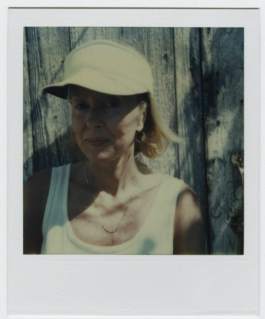 Polaroid of Francine du Plessix Gray