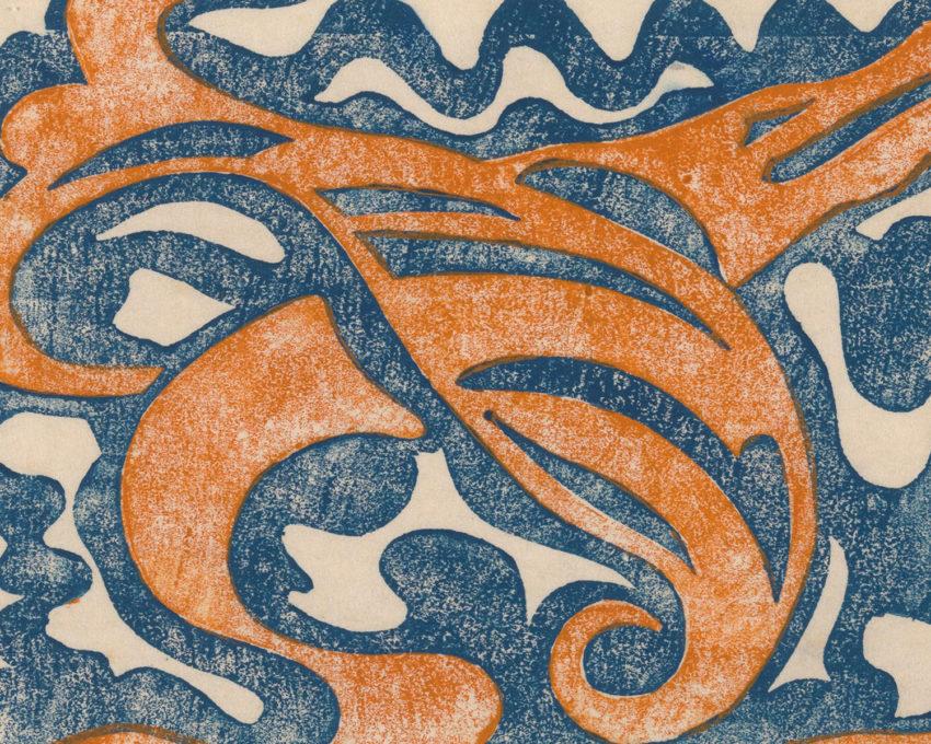 An abstract print by Jacob van Heemskerck.