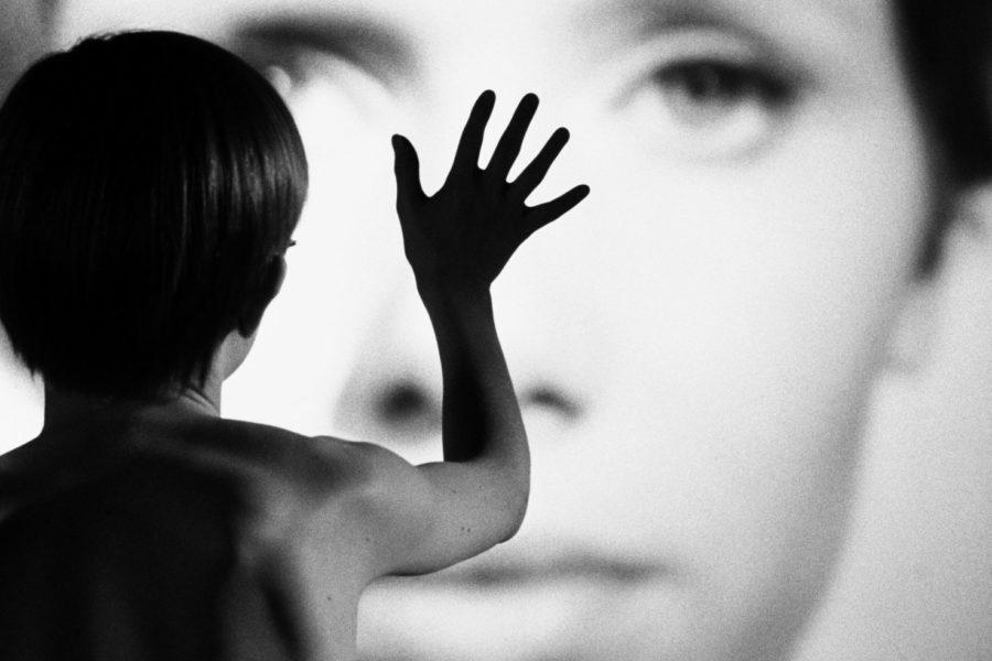 An image from Ingmar Bergman's Persona