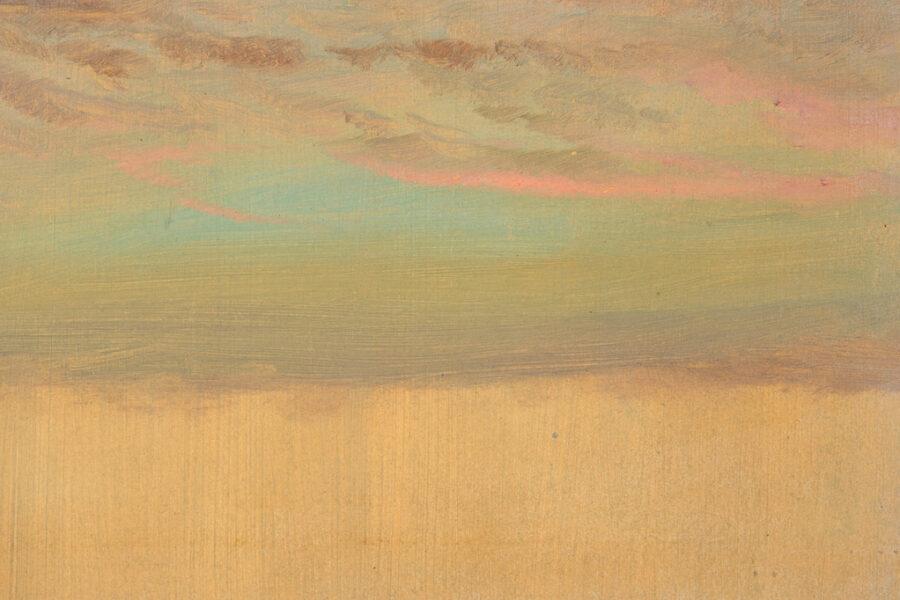 Frederic Edwin Church, Cloud Study, 1870–80. Courtesy Cooper Hewitt, Smithsonian Design Museum, New York.