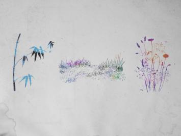 Graphic with plants. Illustration by Laura Padilla Castellanos.