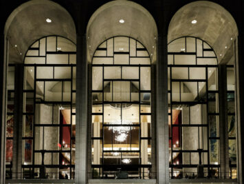 Exterior view of Metropolitan Opera