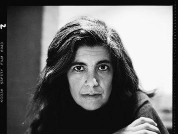 Susan Sontag, New York, February 2, 1978. Photograph by Richard Avedon. ©The Richard Avedon Foundation.