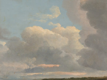 Cloud study. Simon Dennis. Courtesy The Metropolitan Museum of Art.