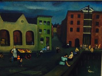 Joseph De Martini, Docks on Sunday, ca. 1941, Metropolitan Museum of Art.