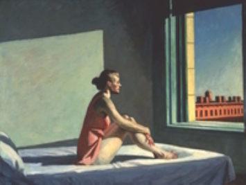Morning Sun by Edward Hopper, 1952