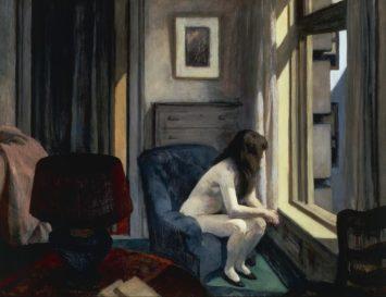 image: Edward Hopper, Eleven a.m., 1926
