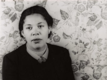 A photograph of Ann Petry.