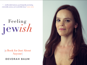 The cover of the book Feeling Jewish by Devorah Baum.
