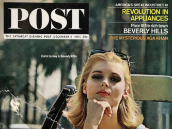 A cover of the Saturday Evening Post.