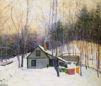Lilla Cabot Perry, A Snowy Monday, 1926
