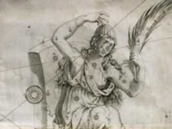 A sketch of Cassiopeia.